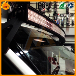 China Manufacture best price super bright 6000k combo beam 9 ~ 32v pc lens ambulance lightbar