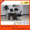 Factory steel office table /MDF top metal office desk for sale