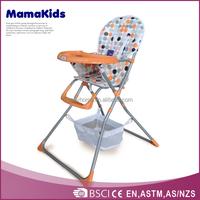 EN14988 seat belt baby highchair