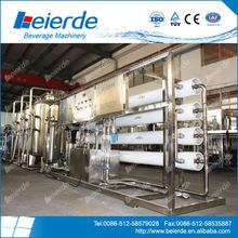 10,000 litros por hora pequeñas de agua de ósmosis inversa sistema de tratamiento para el agua mineral