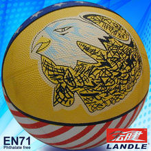official size new style rubber made size 1 basketball