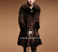 2015 Women Mink Fur Coat Beijing,Classic Fur Coat with Soft and Fluffy Mink Fur