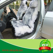 latest design long fur auto seat cushion cover