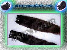 Natural raw stricking tangle free beautiful body wavy human hair extension