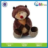 Custom plush long fur fabric material animal toy,plush lifelike Mouse kids toy