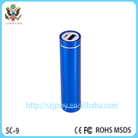 Fashional Style 2600mAh portable power banks gift portable power banks for iphone6/samsung/xiaomi/android on sales