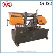 GZ-4235 double-column guidance accuracy new product band saw cutting machine