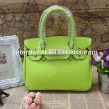 de color verde bolsa bolso de mano para las niñas 2014