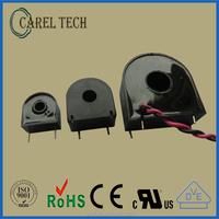 Single phase toroidal current transformer pcb mount