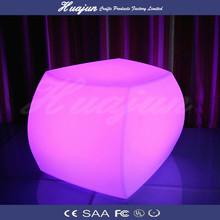 HUAJUN new design flash LED illuminated light bar chair furniture