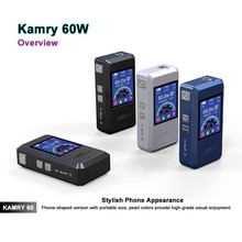 e cig display case Kamry 60 watts new vape mod rebuildable, magnet back cover 7w~60w kamry60 watt electronic cigarette vaporizer
