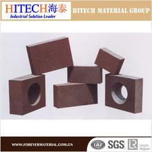 high quality and high standard zibo hitech chrome magnesia bricks refractory magnesia chrome bricks for refining furnace