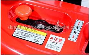 Armazém de Paletes Empilhador elétrico Empilhadeira Caminhão de Elevação Industrial
