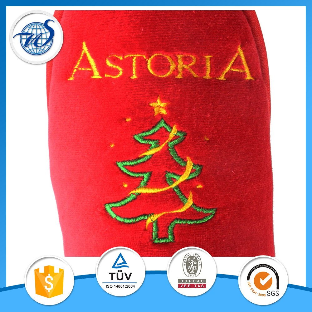 5 star custom моющиеся тапочки отеля с вышитый логотип и бренд