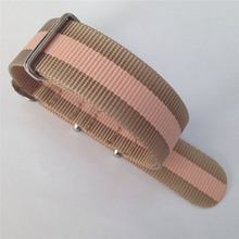 Ballistic nato zulu nylon 24mm velcro watch strap