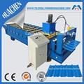 Alumínio Roofing folha máquina de ondulação de fria galvanização linha