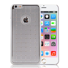 Silver Cell Phone Metal Hard Case for iPhone 6,for iPhone 6 and iPhone 6 plus Aluminum Case