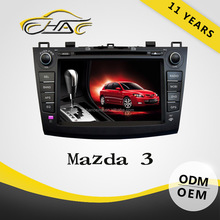 Special For Mazda 3 In Dash Car DVD GPS System With 8inch Touch Screen/ Bluetooth/ USB/ SD/ Camera