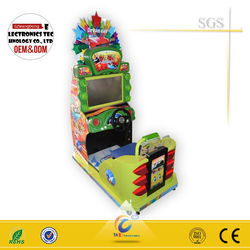 Top sale 3D swing baby racing, driving car game machine