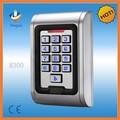 Waterproof porta controlador de acesso com teclado de metal para portão de entrada / apartamento
