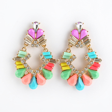 fashional factory wholesale cheap acrylic earring set