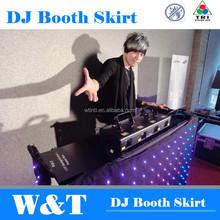 Led DJ Booth Skirt ,animation 2.2X1.0M, RGB Tri.
