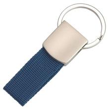hot wholesale hifht quality Fashion custom metal keychains/Polyester cloth keychain
