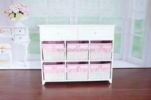 Korean high-grade Zakka rural style living room bedroom general wooden receive ark Large drawer