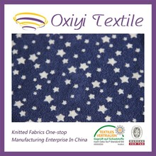 printed twill knitted fabric