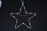 Christmas star deco light