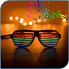 2015 New Design Sound Activated LED Sunglasses