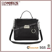 french designer leather handbags plain white black color