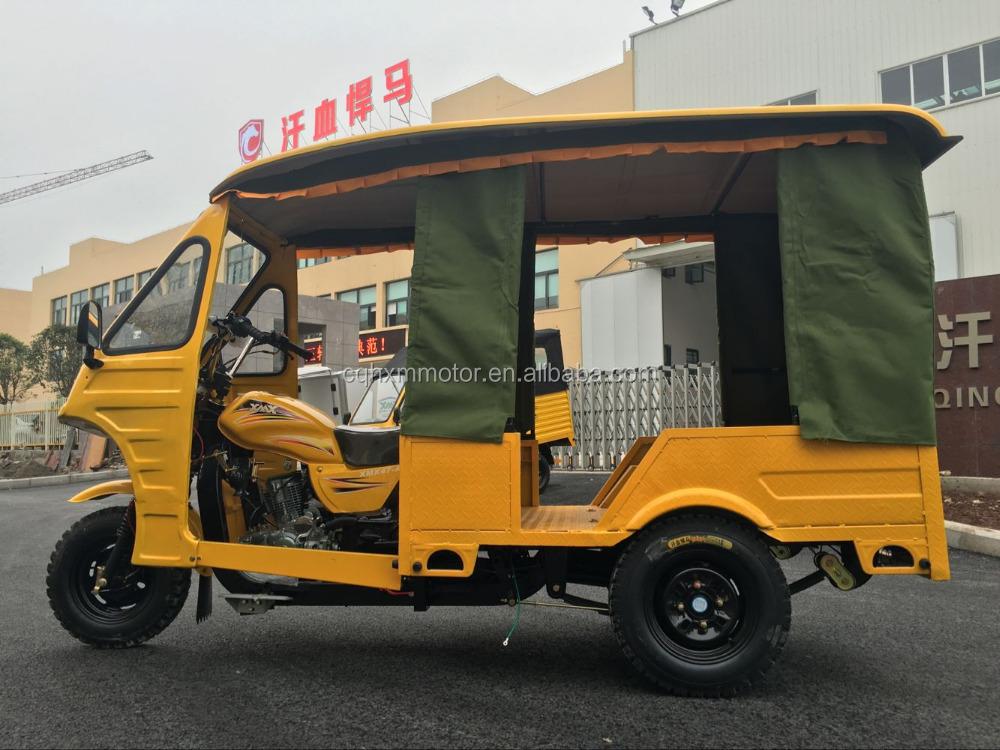 Chongqing 6 koltuklar tuk tuk rickshaw piaggio yolcu satılık üç tekerlekli