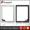 Replacement parts for ipad 2 digitizer,for ipad 2 touch screen white & black