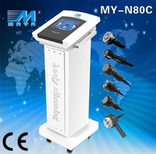2015 higher quality 6 in1 vacuum cavitation slimming machine/ultrasonic cavitation fast body shaping machine / body slimming