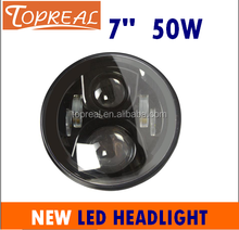 "Top selling CREE 7"" led headlight for jeep wrangler"