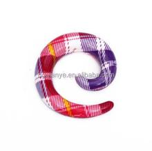 Acrylic Ear Spiral, ear expander,stretchers body piercing jewelry