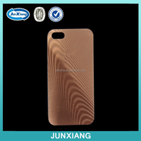2015 new design mobile phone case for iphone 5 with wood grain