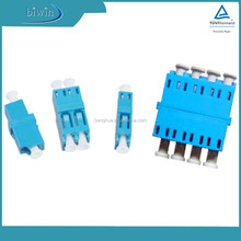 New style Optical Fiber LC Adapter with Accurate mechanical dimensions