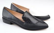 Italian fashion genuine leather pointed toe flat lady dress shoes 2015