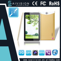 Cell Phone MTK6572 dual Core 7 inches 3G GPS 4G ROM Android Phone Tablet Ultra-thin China Mobile Phone