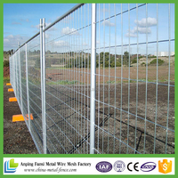 Hot sale HDG temporary fencing for building