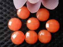 Pearl shape fake resin gemstone