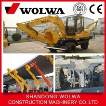 small 8 ton post hole digger excavator with high quality for sale