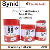 Hot sale!!! Neoprene Contact adhesive/Neoprene glue for shoes/rubber cement