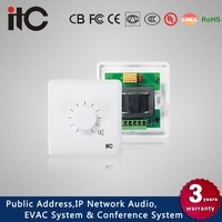 ITC T-671F Series Multiple Modules 11 Steps Wall Volume Control Public Address