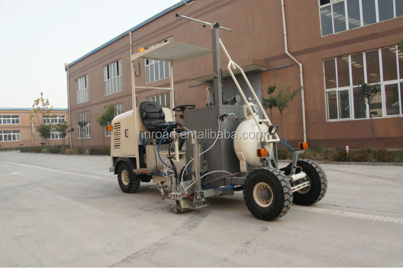 Small Driving Type Thermoplastic Screed Road Marker Equipment