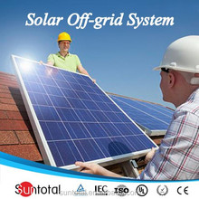 Suntotal solar systems best price off grid solar panel for air conditioner