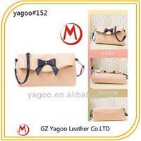 fashion elegant pu leather handbag, cross body bag ladies