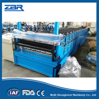 Double Layer Machine Galvanized Iron Sheet for Roofing